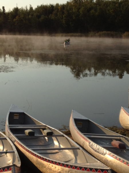 canoe-lineup
