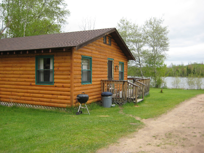 fire-side cabin