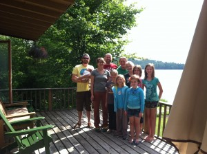 This group had a great time at the lake in 2013!